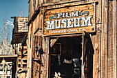 Film Museum, Mane Street in Pioneertown, Joshua Tree National Park, California, USA, North America