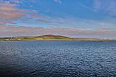 Kirkwall im Morgenlicht, schottische Orkneys, Vereinigtes Königsreich
