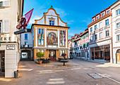 Kirchstrasse in Bregenz, Austria