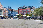 Bodanplatz in Konstanz, Baden-Württemberg, Deutschland