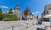 Schnetztor und Bodanstraße in Konstanz, Baden-Württemberg, Deutschland