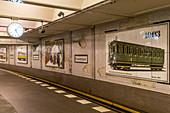 Klosterstrasse underground station, Berlin Mitte