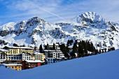 Blick auf Obertauern, Salzburger Land, Österreich