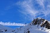 Im Skigebiet Obertauern am Zehnerkar, Alpen, Salzburger Land, Österreich
