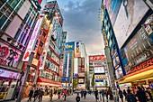 Japan ,Tokyo City, Akihabara District, Electric town,