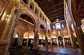 Museo de los Concilios y la Cultura Visigoda,  Iglesia de San Román, primer mudéjar toledano (S. XIII), Toledo, Castilla-La Mancha, Spain