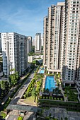 Mont Kiara condominiums, Kuala Lumpur, Malaysia