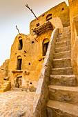 Ksar (Befestigte Speicherburgen), Ksar Ouled Soltane Dorf, Tataouine Bezirk, Tunesien, Afrika