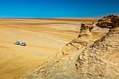 Sahara desert close to Tozeur city.  Tunisia, Africa.