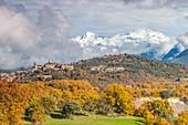 Latorrecilla village in the Natural Park of Sierra de Guara, Huesca, Spain