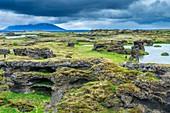 Lake Myvatn panoramic point, Northwestern Region, Iceland