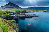 Port Arnarstapi, Arnarstapi, Snaefellsnes Peninsula, Iceland