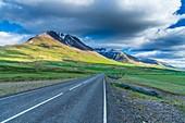 Icelandic landscape along Road 95, Eastern Region, Iceland