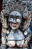A Stone Statue, Sanur Beach, Sanur, Bali, Indonesia.