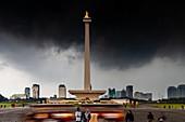 The National Monument, Merdeka Square, Jakarta, Indonesia.
