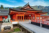 Itsukushima Miyajima Japan. Itsukushima Shrine.
