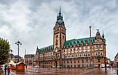 City Hall in Hamburg, Germany