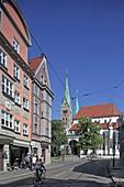 Dom, Augsburg, Schwaben, Bayern, Deutschland