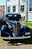 Old Buick gangster limousine, vintage car, Haparanda, Norrbottens Län, Sweden