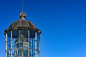 Look of the lighthouse on the top of the Bjuröklubb nature reserve, Västerbottens Län, Sweden