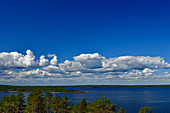 Typical archipelago landscape in the Baltic Sea near Bjuröklubb, Västerbottens Län, Sweden