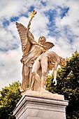 Sculpture on the Schlossbrücke, Unter den Linden, Berlin, Germany
