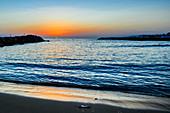 Sonnenaufgang bei Heraklion, Kreta, Griechenland