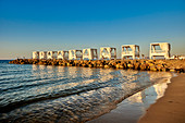Evening mood by the sea, Heraklion, Crete, Greece