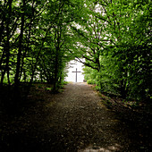 The cross at the end of the path, Koppelkreut, Rheinbreitbach, Germany
