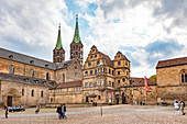Old court at Bamberg Cathedral in Bamberg, Bavaria, Germany