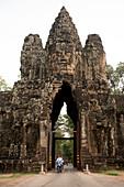 Cambodia, Siem Raep, Angkor, Southern Gate