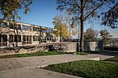 historical University of Design - HFG, Ulm, Baden-Württemberg, Germany