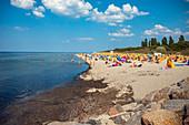 Strand von Timmendorf auf Insel Poel bei Wismar, Mecklenburg-Vorpommern, Deutschland
