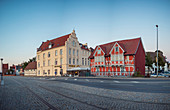 Hotel New Orleans in the old harbor of Wismar, Mecklenburg-Western Pomerania, Germany
