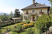 Rectory, place of pilgrimage Birkenstein, near Fischbachau, Leitzachtal, Upper Bavaria, Bavaria, Germany