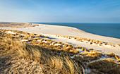 Küstenlandschaft auf der Ellenbogen-Halbinsel , Sylt, Schleswig-Holstein, Deutschland
