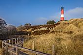 Hörnum lighthouse, Sylt, Schleswig-Holstein, Germany