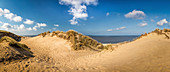 Dunes on the Rote Kliff in Kampen, Sylt, Schleswig-Holstein, Germany