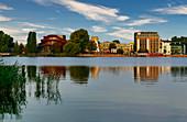 Tiefer See, Havel, cultural location Schiffbauergasse, Potsdam, Brandenburg state, Germany