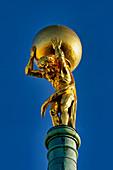 Atlas, Altes Rathaus, Alter Markt, Potsdam, Land Brandenburg, Deutschland