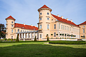Rheinsberg Castle Castle garden with green areas, Rheinsberg, Brandenburg, Germany