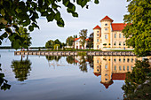 Rheinsberg Castle Rheinsberg Castle view from the banks of the Grienericksee, Rheinsberg, Brandenburg, Germany