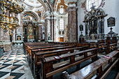 Inside the Cathedral of Sankt Jakob in Innsbruck, Tyrol, Austria