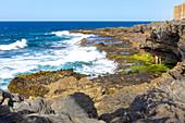 "Rugged coast at ""La Garita"", Gran Canaria, Spain"