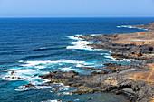 """Raue Küste von """"La Isleta"""" - Halbinsel nördlich von Las Palmas, Gran Canaria, Spanien"""