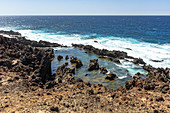 "Sea water basin at ""Buenavista del Norte"", northwest of Tenerife, Spain"