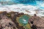 Sea water pool near Garachico, Tenerife, Spain