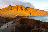 """Punta del Teno"" at sunset - westernmost point of Tenerife, Spain"
