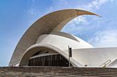 Auditorium (Auditorio de Tenerife) of Santa Cruz de Tenerife, Tenerife, Spain