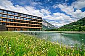 Power plant center Illwerke near Vandans, architect: Hermann Kaufmann, Montafon, Vorarlberg, Austria